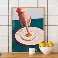Fried Egg Photographic Art Print
