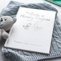 Personalised Luxury Book Of Nursery Rhymes