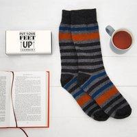 Cosy Merino Wool Socks In A Box