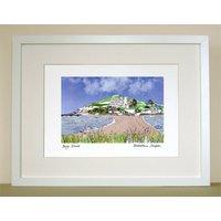 Devon Print 'Burgh Island'