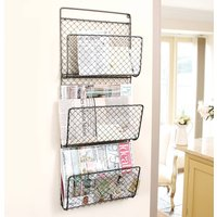 Home Office Wire Wall Magazine Rack