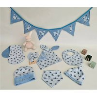 Personalised Nursery Bunting, For New Baby, Christening
