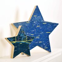 Personalised Constellation Map Star Ornament