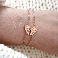 Best Friends Set Of Two Bracelets