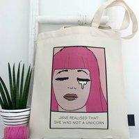 'Not A Unicorn' Unicorn Bag
