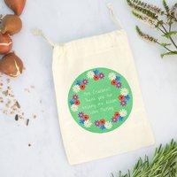 Teacher Wild Flower Garden Gift Bag With Seeds