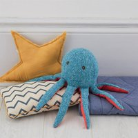 Octopus Soft Knit Toy