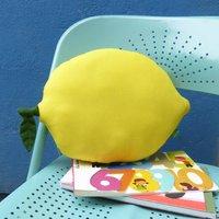 Lemon Shaped Pillow Nursery Cushion