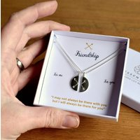Crossed Arrows Friendship Necklace Gift Set