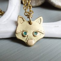 Zorro Fox 18ct Fairtrade Gold Necklace, Gold