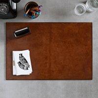 Leather Desk Set Large, Chestnut/Brown/Dark Chocolate