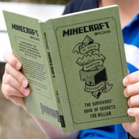 Personalised Minecraft Book