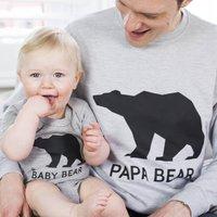 Bear Family Jumper Set