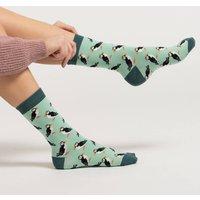 Puffin Bamboo Socks
