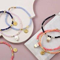 Handmade Friendship Charm Bracelet