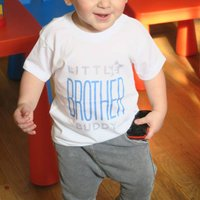 Personalised Brother And Sister Twinning Tshirt Set