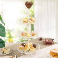 Vintage Style Triple Cake Stand