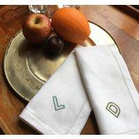 Monogram Cotton Or Linen Napkin