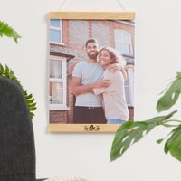 Personalised New Home Photo Hanger