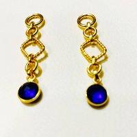 Sapphire Statement Earrings