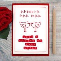 Personalised 'Love Birds' Card