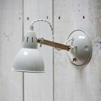 Bermondsey Wall Light, White