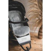 Baa Baby Buggy Style Sheepskin Pram Liner Grey Shorn