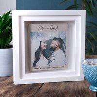 Linen Photo Memory Print
