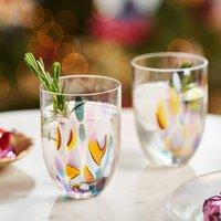 Bright Splash Glass Tumblers