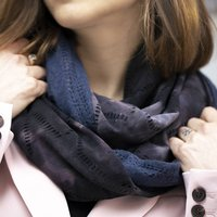 Reversible Tie Dye Snood