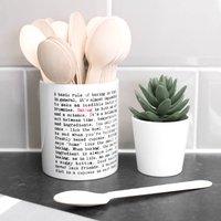 Kitchen Utensil Pot Baking Gift