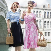 Lisa Dress | Authentic Vintage 1940s Style