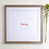 50x50cm Silver Frame