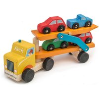 Personalised Wooden Car Transporter