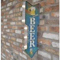 Beer Light Up Sign