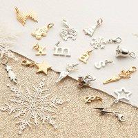 Selection Of Christmas Themed Charms