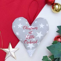 Christmas House Heart