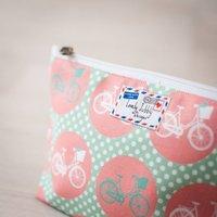 Bicycle Cycling Bike Gift Makeup Toiletry Wash Bag