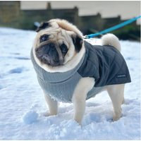 Waterproof And Knitted Quilted Snood Dog Jacket