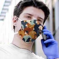 Fabric Mask Cool People Design