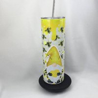 Bumble Bee Gnome Insulated Tumbler