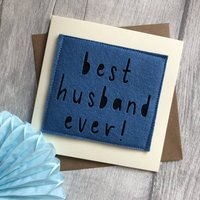 Best Husband Ever! Birthday Card
