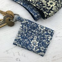 Face Mask Pouch Keyring