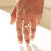 Personalised Moon Ring