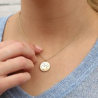 Personalised Silver Or 18ct Gold Constellation Necklace, Silver