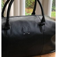 Personalised Holdall Bag With Golf Motif