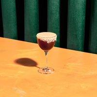 Salted Coconut Rum Espresso Martini