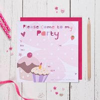 Cupcakes Party Invitations