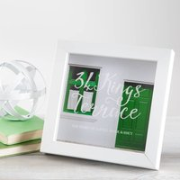 Personalised New Home Photo Box Frame