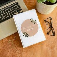 Personalised Mrs To Be Wedding Plans Hardback Notebook